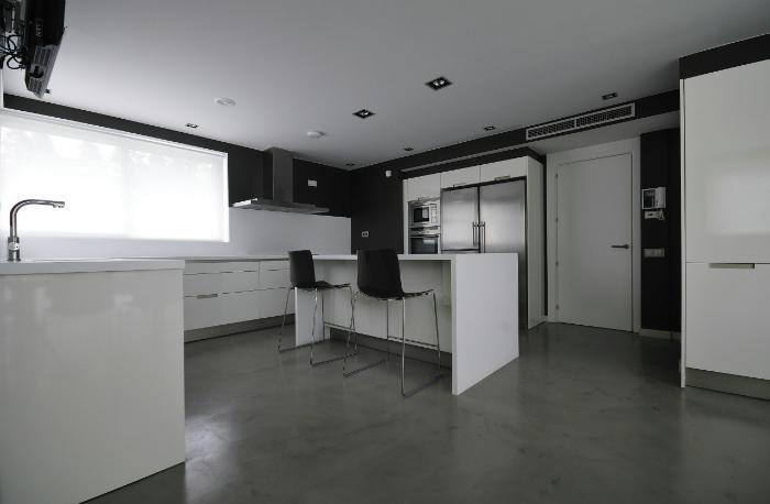 pavimentimicrocemento, pavimento cucina 1
